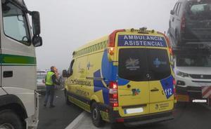 El accidente en cadena en la AP-1 evidencia la urgencia de abrir nuevos accesos
