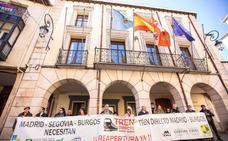 La Plataforma por el Directo retoma sus protestas en Aranda