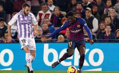 Messi, de penalti, adelanta al Barcelona