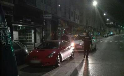 Positivo en alcohol y denuncias por conducción negligente, resultado de los controles de Policía Local en Burgos
