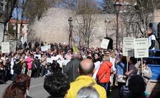 Imágenes de la manifestación por la Atención Primaria en Burgos