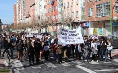 Un millar de burgaleses se suman a la lucha de Los Cubos y exigen una Atención Primaria digna