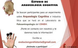 El CENIEH busca 70 voluntarios para un estudio sobre arqueología cognitiva