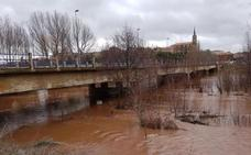Las confederaciones definen nueve zonas nuevas de riesgo potencial de inundación en Burgos