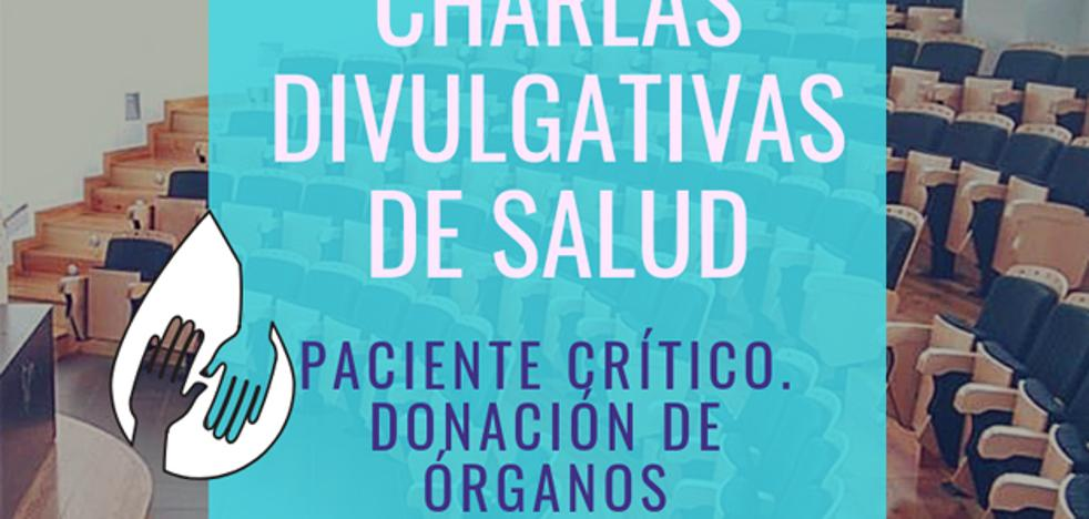 Conferencia del doctor Javier Romero sobre la donación de órganos