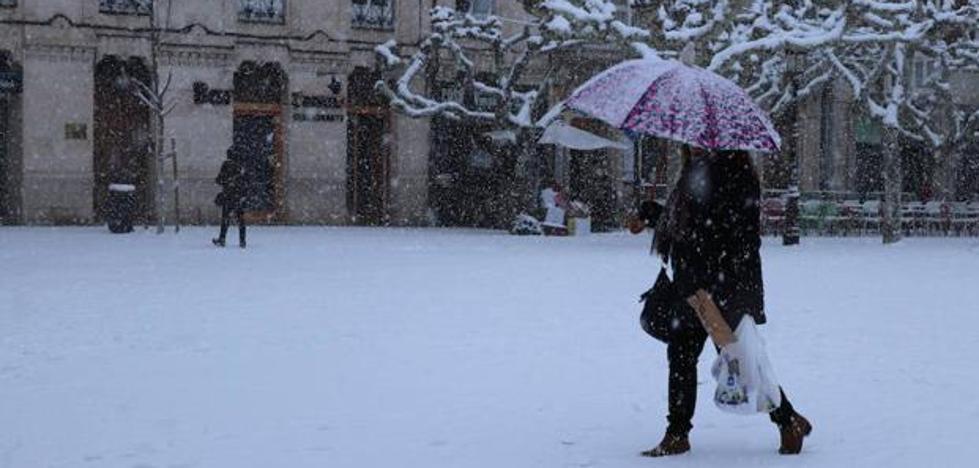 Burgos es la capital de España en la que más nieva