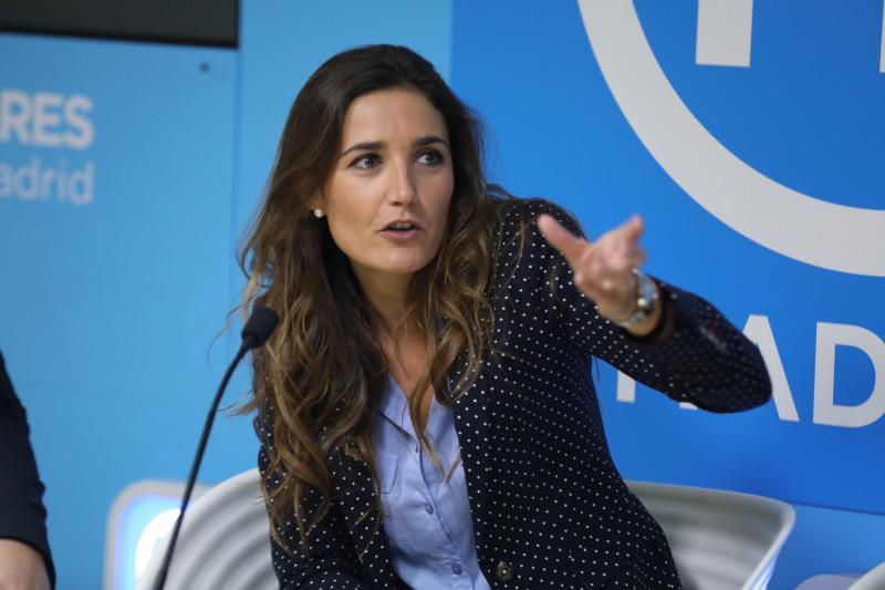 La portavoz del PP en Sepúlveda, Raquel Sanz, primera de la lista para ocupar el escaño de Clemente