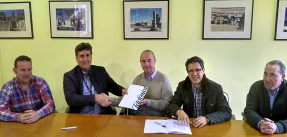 Sotopalacios y Ubierna dispondrán de fibra óptica este año