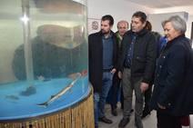 Tudanca aboga por blindar la sanidad de Castilla y León en su visita a Melgar de Fernamental
