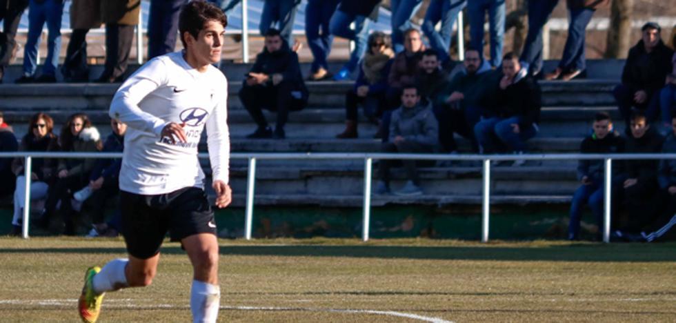 El juvenil Daniel Soto renueva con el Burgos CF