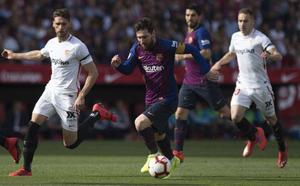 Mercado devuelve la ventaja al Sevilla