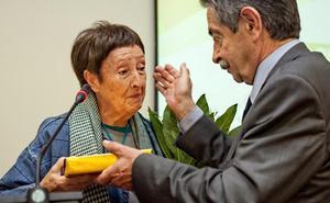 La pintora burgalesa Gloria Torner recibe este sábado la Medalla de Plata de la Ciudad de Santander
