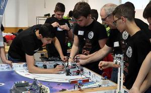 'Jóvenes' robots para un desafío espacial