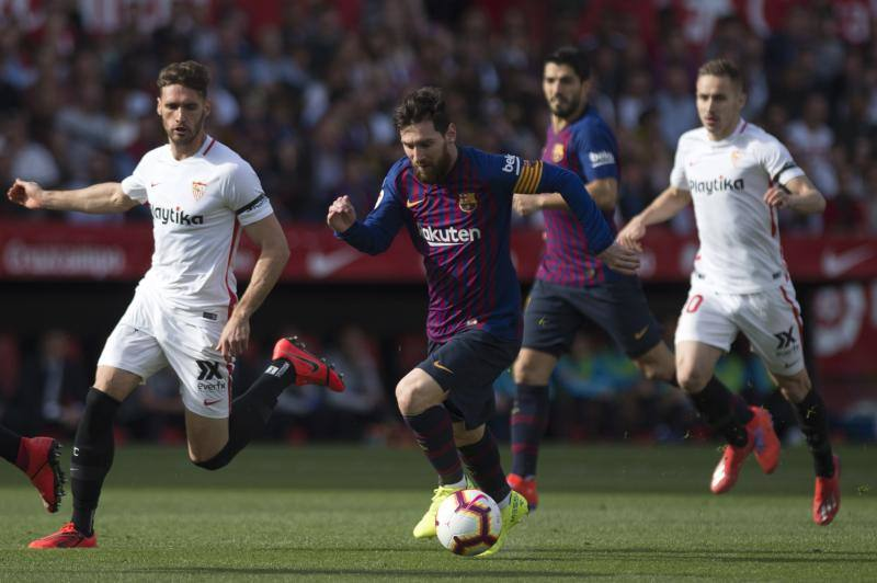 Las mejores imágenes del Sevilla-Barcelona