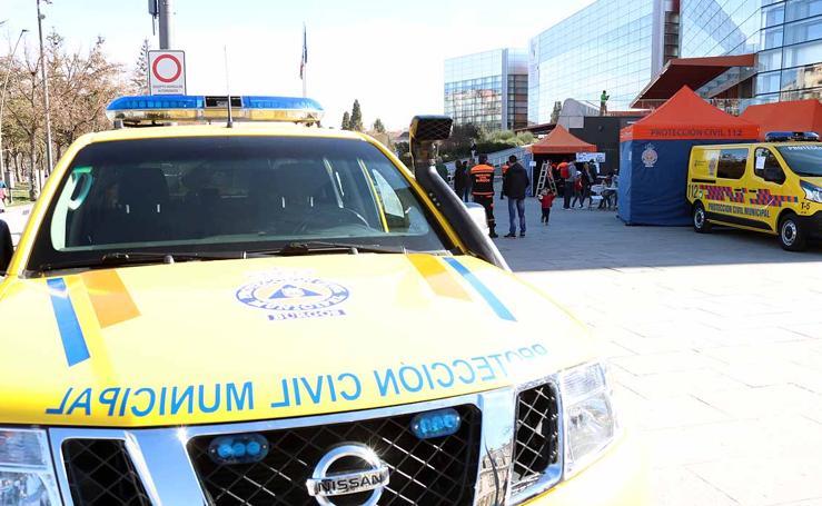 Protección Civil de Burgos se acerca a la ciudadanía en busca de voluntarios