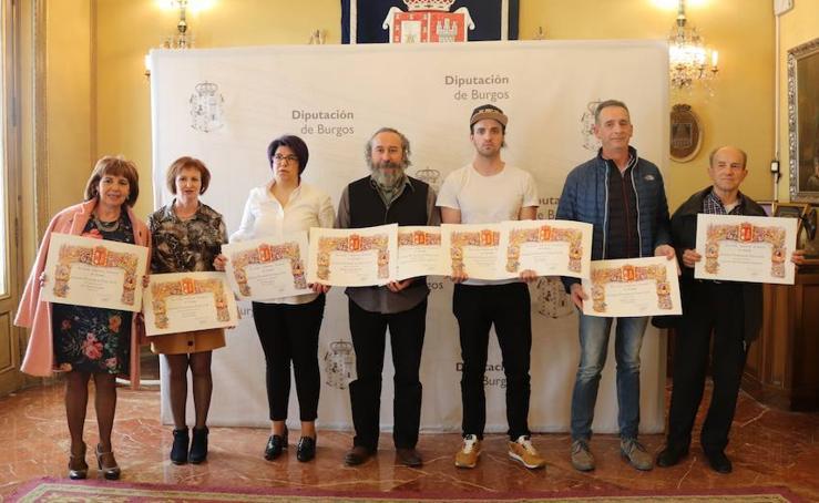 Imágenes de los premiados del Certamen Provincial de Teatro de la Diputación