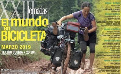 Ciclistas del mundo recalan en Burgos para contar sus experiencias