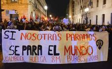 Burgos se prepara para otro 8 de marzo «histórico»