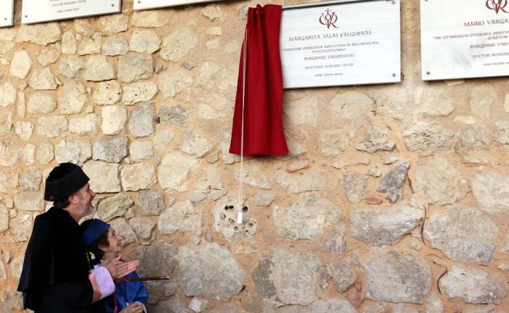 La Universidad de Burgos ha celebrado el Día del Doctor y ha nombrado a Margarita Salas 'Honoris Causa'
