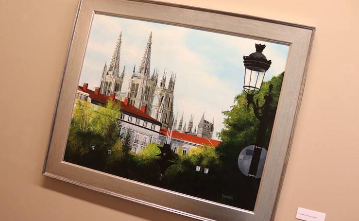 La exposición 'Burgos...andar y descubrir...' de Pablo Labrado, en imágenes