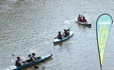 Los municipios ribereños del Duero ultiman la 'guía de río' para establecer una ruta en piragua y canoa desde Urbión hasta Oporto