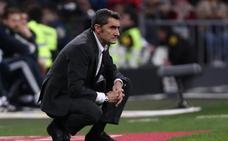 Valverde: «Sé que es mucha distancia, pero hay que ser prudentes»
