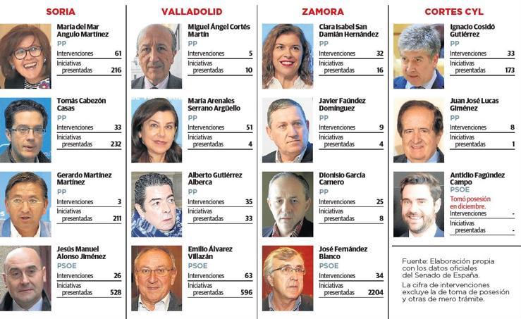Actividad parlamentaria de los senadores de Castilla y León 3