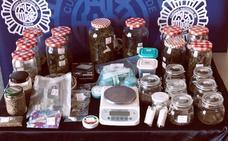 Desmantelada una asociación en Pentasa II por favorecer y facilitar el consumo ilegal de marihuana y hachís