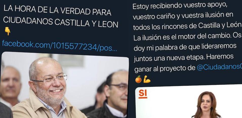 Francisco Igea y Silvia Clemente apuran la campaña de primarias en las redes sociales