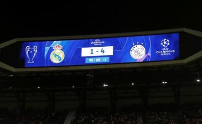 La afición del Bernabéu explota