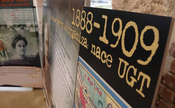 Los 130 años de historia de la UGT, en imágenes