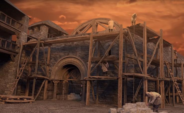 Un equipo de la UBU ha colaborado en un proyecto para reconstruir la Alta Edad Media en Vitoria Gasteiz