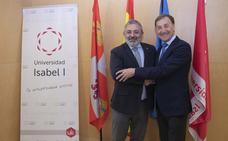 El subdelegado del Gobierno destaca el papel de la Universidad Isabel I como «agente social, cultural y económico» de Burgos