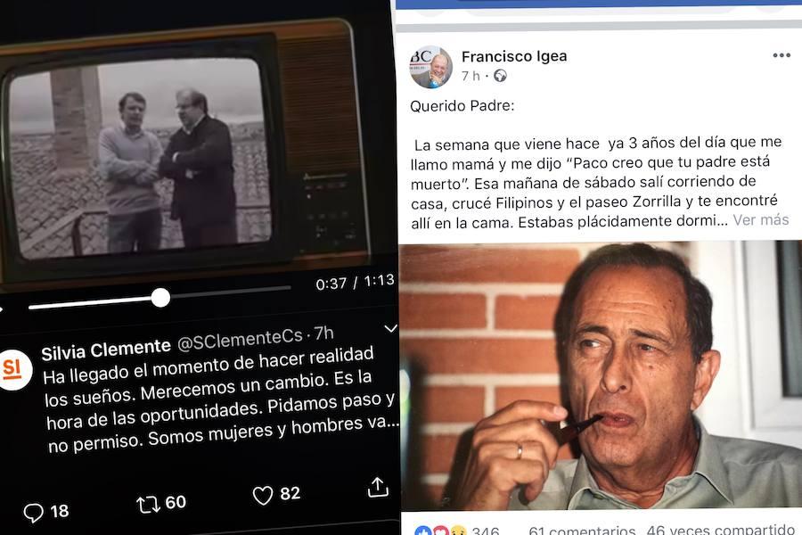 Silvia Clemente critica a PP, PSOE y Podemos en un vídeo electoral