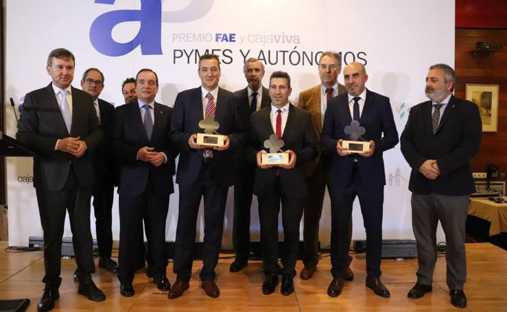 Premios FAE y Cajaviva Pymes y Autónomos 2019