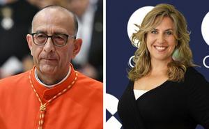 El cardenal Juan José Omella y la periodista Cristina López Schlichting reflexionan sobre el amor y el ser humano en la Catedral