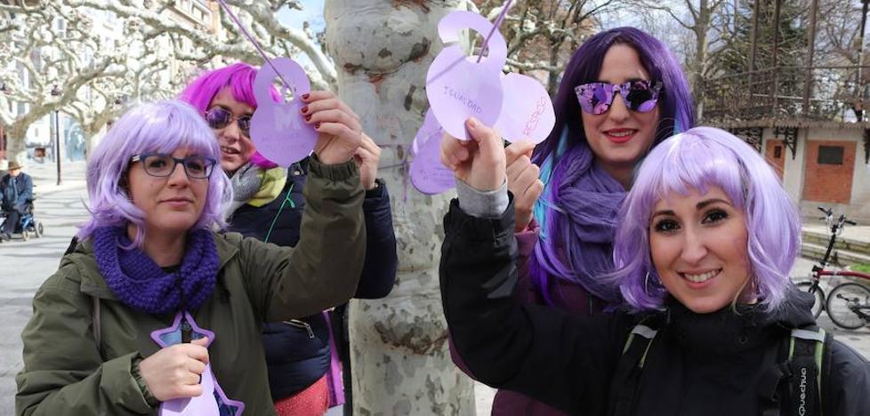 el hilo morado que une el feminismo