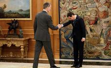 Moreno traslada al Rey su lealtad y le defiende ante el fanatismo soberanista