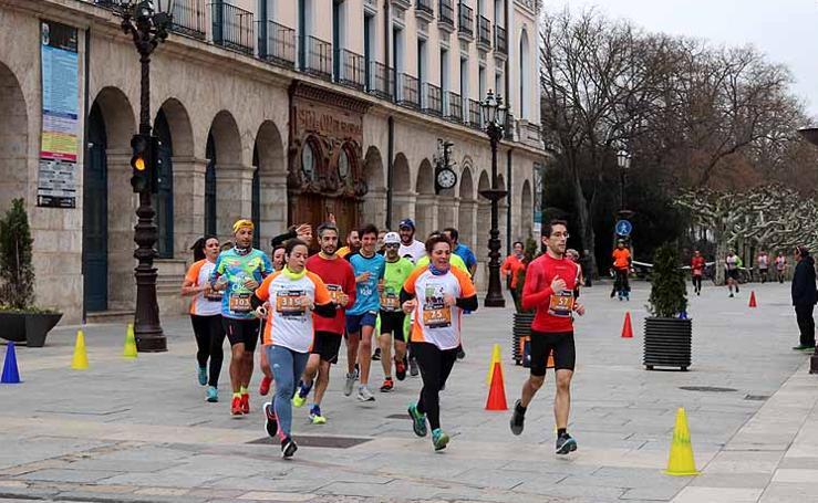 Imágenes de la carrera solidaria TDAH Bricomart Burgos