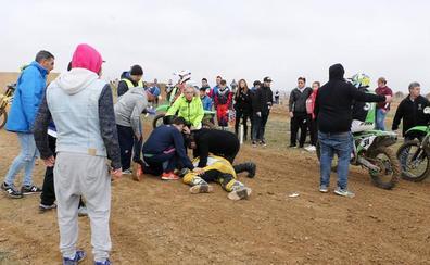 Fallece el piloto de Motocross asturiano que sufrió un accidente en una competición en Rueda