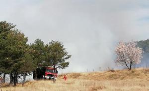El humo de unas prácticas forestales en Villatoro provoca 'falsos' avisos al 112