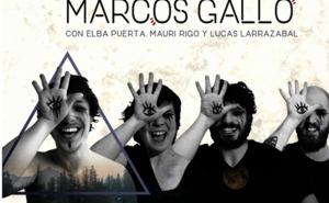 El cantautor burgalés Marcos Gallo presenta en el VII Concurso de La Rua su recién estrenado albúm, 'Borealis'