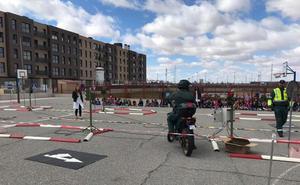 La Guardia Civil visita el Colegio Dominicas de Aranda de Duero dentro de unas jornadas de seguridad vial
