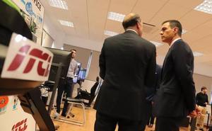 Pedro Sánchez visita el Instituto Tecnológico de Castilla y León en Burgos en su 30 aniversario