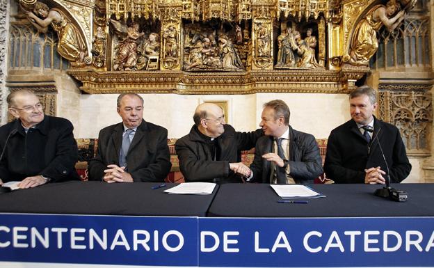 Mutua Madrileña dona 80.000 euros anuales al VIII Centenario de la Catedral de Burgos