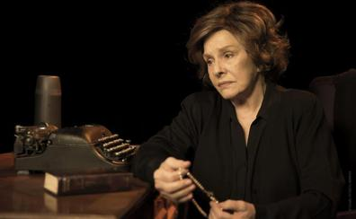 Lola Herrera interpreta mañana 'Cinco horas con Mario' en la Fundación Caja de Burgos