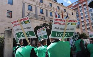 Burgos se suma a la movilización de UCCL por un reparto justo de la PAC