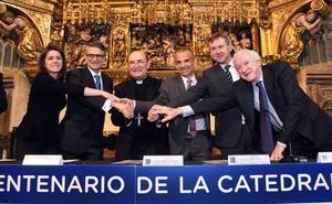 Las fundaciones Ibercaja y Cajacírculo e Ibercaja aportan 160.000 euros a la Fundación VIII Centenario de la Catedral