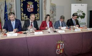 La Junta y la UBU aúnan esfuerzos para desarrollar la bioeconomía en las zonas rurales de Burgos