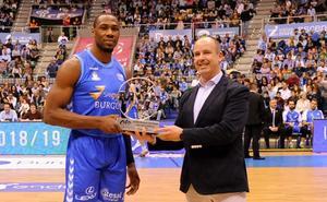 Dominique Sutton, galardonado como MVP de febrero en la Liga Endesa